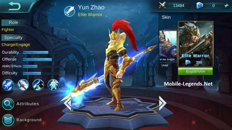 wallpaper mobile legend zilong build item full damage for yun zhao or zilong mobile