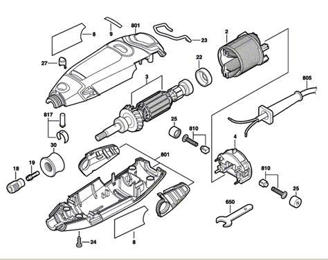 dremel parts diagram buy dremel 3000 f013300000 replacement tool parts