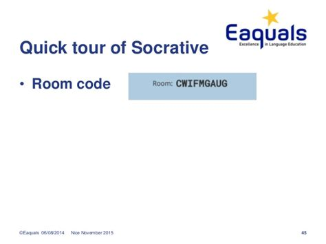 socrative room using new technologies in language learning