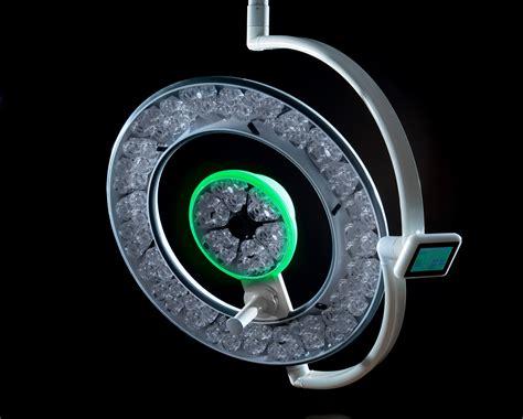 Set Light Green Flow An merivaara surgical light q flow