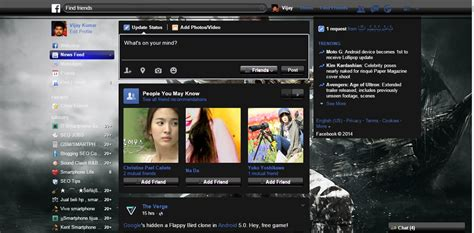 facebook themes stylish mozilla firefox change facebook theme in 5 simple steps chrome and