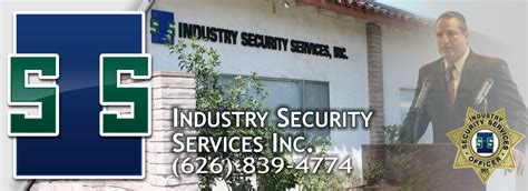 industry security services company providing security
