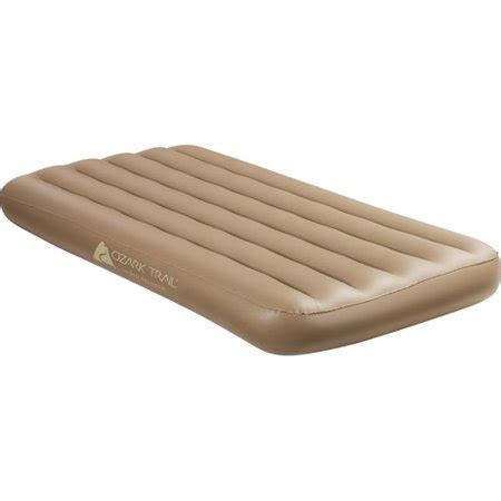 ozark trail vinyl air bed walmart