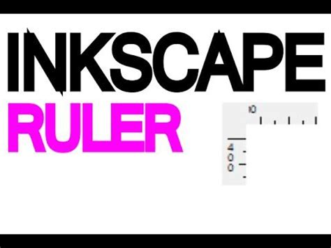 inkscape guides tutorial inkscape tutorial rulers and guides youtube inkscape