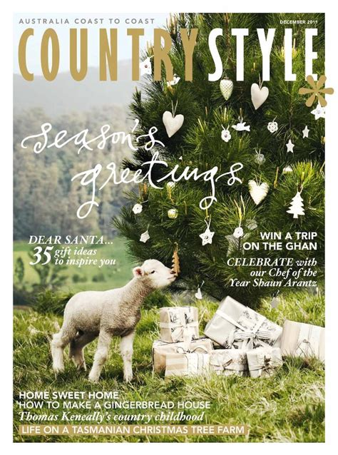 front cover of australian country style magazine - Country Style Magazine