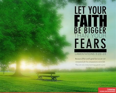 let your faith be bigger than your fear tattoo let your faith be bigger than your fears crossmap