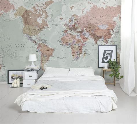 bedroom wallpapers 10 of the best best 25 map wallpaper ideas on pinterest world