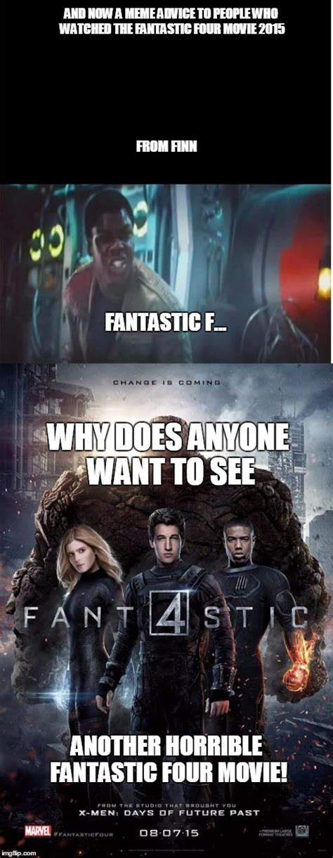 Fantastic Memes - a meme advice for people who watch the 2015 fantastic four