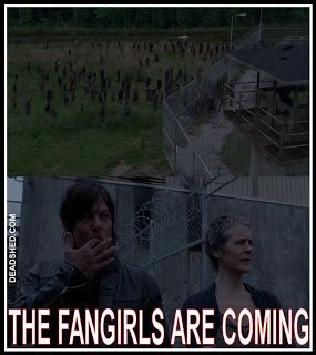 Daryl Walking Dead Meme - deadshed productions the walking dead season 4 comic con