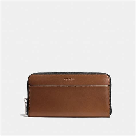 Coach Wallet Coach Accordion Wallet In Sport Calf Leather