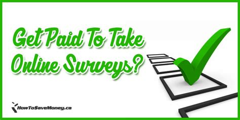 Get Paid To Take Surveys - get paid to take online surveys