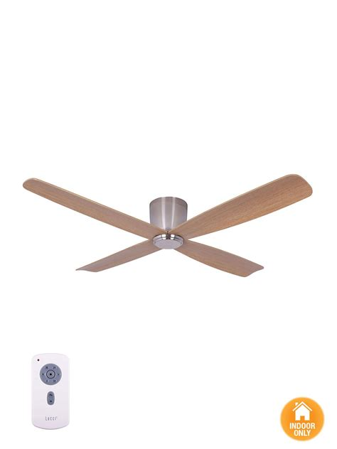 Airfusion Fraser Ctc Dc Fan Brushed Chrome Ceiling Fans Lighting Direct Ceiling Fans