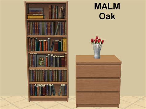 malm bookshelf mod the sims billy bookcase missing malm colours