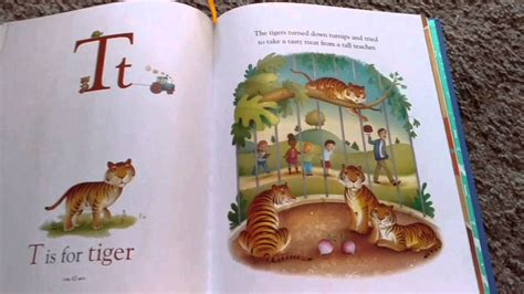 illustrated picture book usborne illustrated alphabet