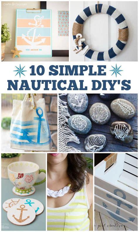 simple nautical diys crafts diy home decor decor