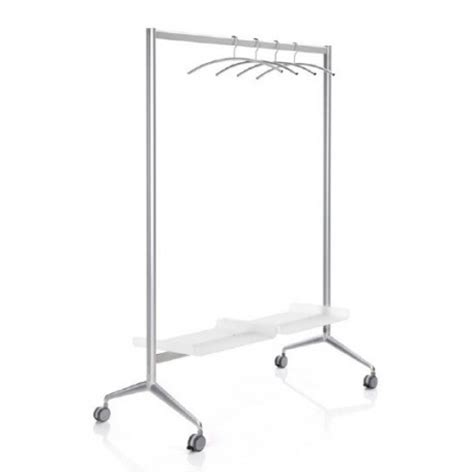 Laundry Racks With Wheels by Aluminium Clothes Rack With Wheels With Lower Tray