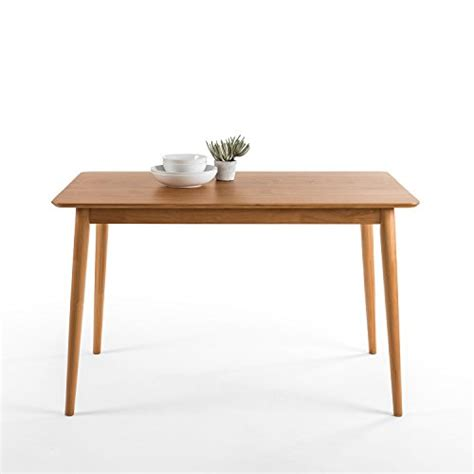 mid century modern small dining table zinus mid century modern wood dining table