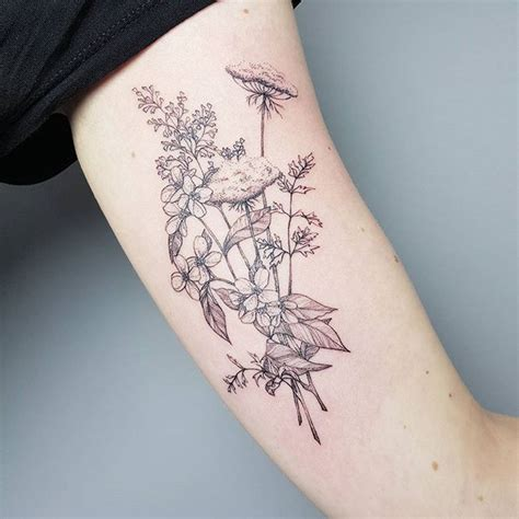 how small can a tattoo be 1000 ideas about wildflower on tattoos