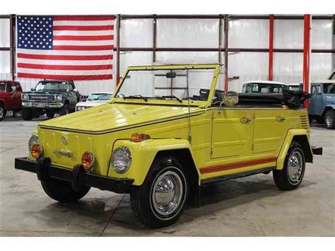 volkswagen thing volkswagen thing for sale on classiccars com 19