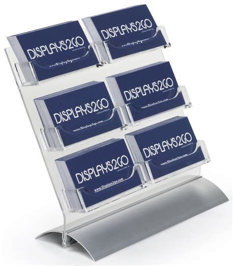Clear Business Card Holder
