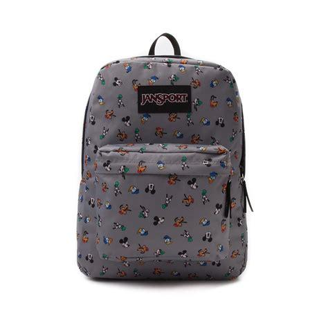 jansport superbreak disney backpack gray 17573