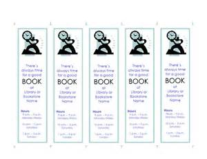 bookplate templates for word promotional bookmark template bookmarks and bookplates