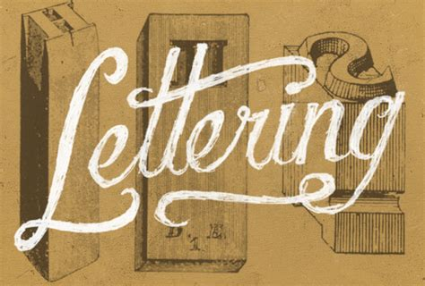 typography and lettering understanding the difference between type and lettering