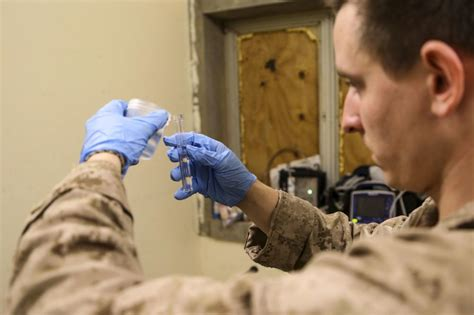 Aboard The Wishing dvids news the wishing well marines test water from
