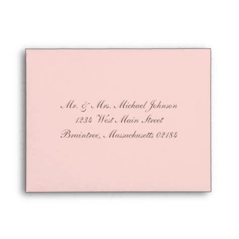 where does st go on envelope light pink 706 with return address envelopes zazzle