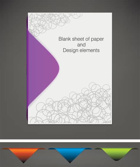 paper design elements 25 vector sheet free vector download 255 free vector for