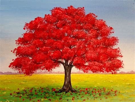 acrylic tree 1000 ideas about canvas painting tutorials on