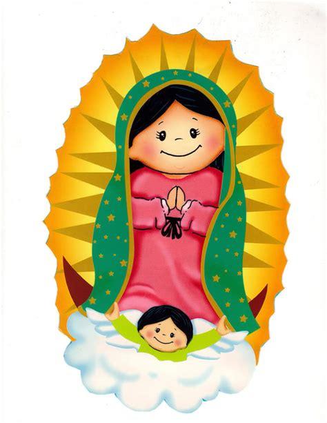 imagenes virgen de guadalupe para niños el baul de las manualidades virgencita