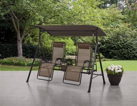 porch swing   gravity chairs   canopy