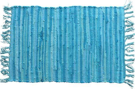 Nuances De Bleus by Tapis Nuances De Bleu 224 Franges