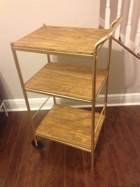Bygel Ikea bar cart ikea bygel utility cart hack dining room