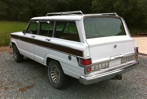 jeep wagoneer white grand waggoneer autos post