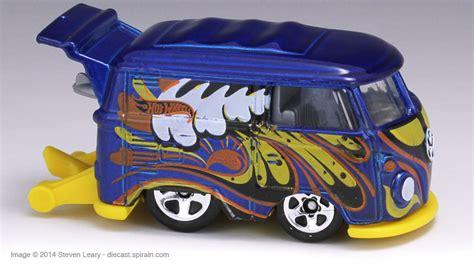 Hotwheels Vw Volkswagen Kool Kombi 2014 Hijau wheels volkswagen kool kombi