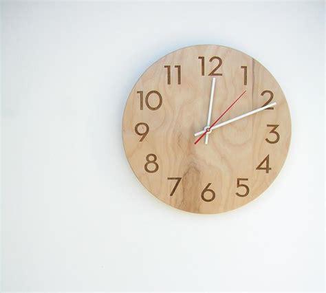 wooden clocks elegant wooden wall clock gadgetsin
