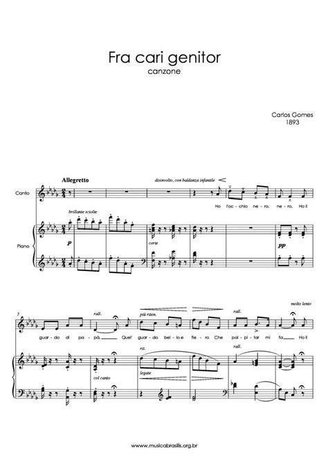 Carlos Gomes - Fra cari genitor | Musica Brasilis