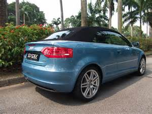 Used Cars Audi A3 For Sale Used Audi A3 Cabriolet S Line For Sale In Singapore Rear