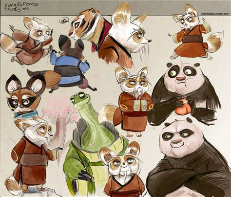 Kung Fu Panda Sketch Repost By Goku No Baka On Deviantart