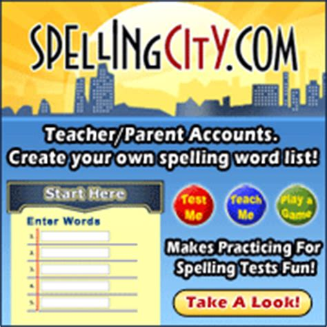 Parent Letter Spelling City Help Homework Spelling