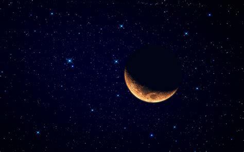 imagenes hd luna luna y el cielo estrellado hd 2560x1600 imagenes