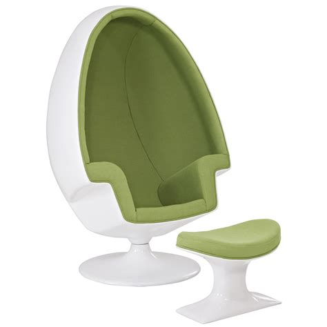 Egg Chair Ottoman by Eero Aarnio Alpha Shell Egg Chair Ottoman