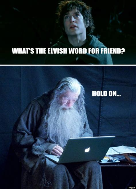 Gandalf Meme - technology gandalf is the only meme we ve ever needed