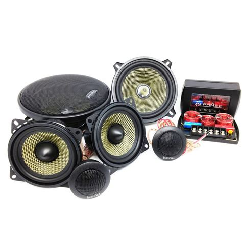 3 way component speaker system in phase 3 way component car speaker system with crossover