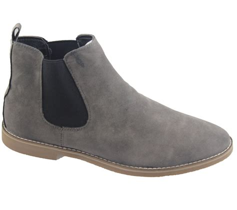 mens chelsea boots mens chelsea boots faux suede office casual dress desert