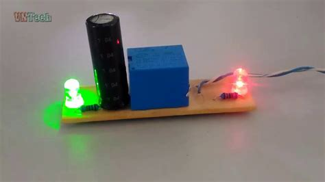 how to make signal blink lights used relay 12v dc