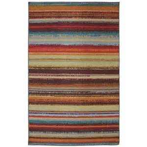 Outdoor Rug Home Depot Mohawk Home Avenue Stripe 5 Ft X 8 Ft Outdoor Printed Patio Area Rug 379919 The Home Depot