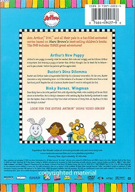 arthur s new puppy arthur s new puppy dvd 2004 dvd empire